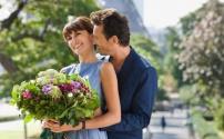 Цветы и признание в любви