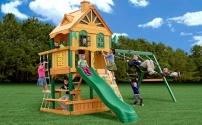 Порадуйте детей игровым комплексом на даче