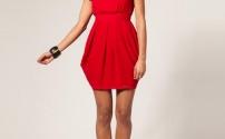 Стильное платье-тюльпан