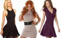 Трикотажные платья – модный тренд круглый год.