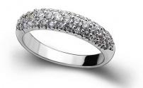 Серебряные кольца – белое волшебство